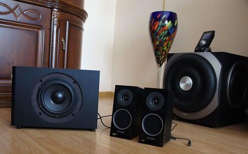 Microlab M 910: 2.1 skaitmeninis audio pigiai?
