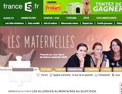 Les Maternelles - France 5 sur les allergies alimentaires