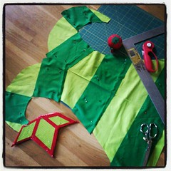 Flygon tail in progress