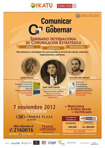 Imagen: Comunicar es gobernar Ikatu Paraguay