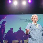 Brene Brown speaks