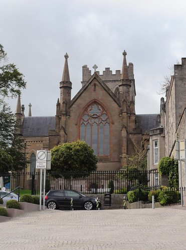 St Patrick's Cathedral Armagh Close View