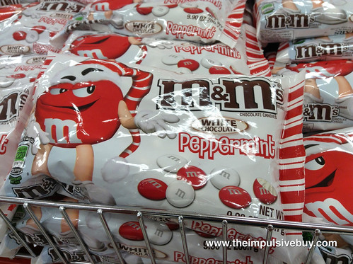 White Chocolate Peppermint M&M's