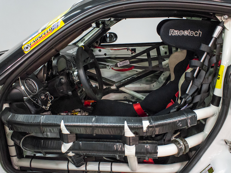 2007 and 2009 porsche cayman s itc spec racecars