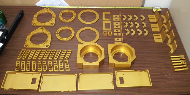 CFHT Sitelle Parts Anodized