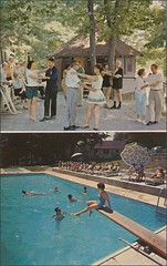 people dancing and swimming at Sunny Oaks in Woodridge, NY55