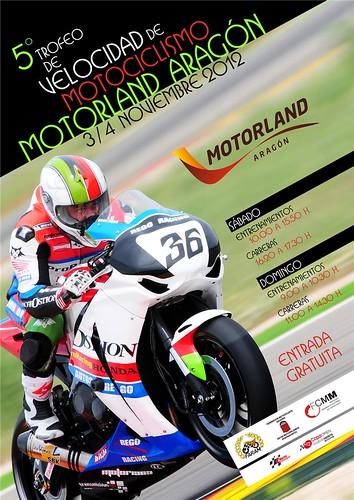 Cartel V Trofeo Velocidad Motociclismo MA