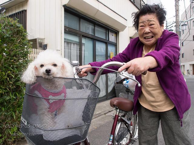 自転車でお散歩♬