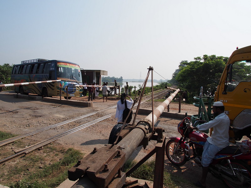 Railway Crossing in Bangladesh