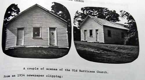 Hurricane Prim Baptist Church ~n1956 038
