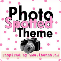 Link Button: Spotted Photo Theme inspired by iHanna
