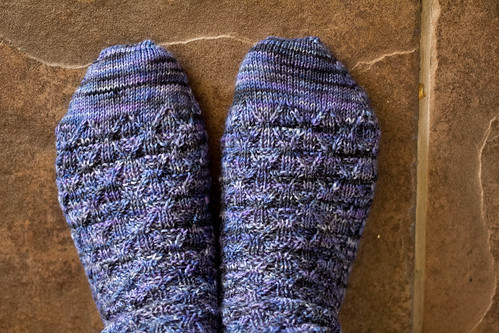 Closer look at Shur'tugal socks