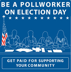 Photo: Be a pollworker