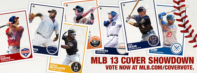 MLB 13 Cover Showdown