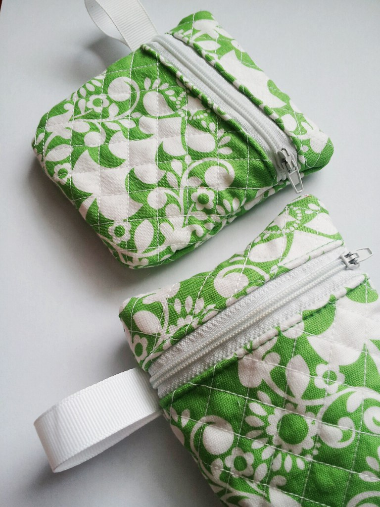 Quilted Crochet Hook pouch