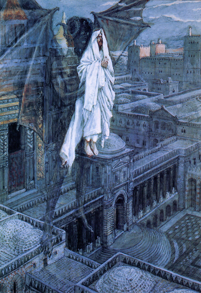 James Tissot - Satan Tried to Tempt Jesus, 1895