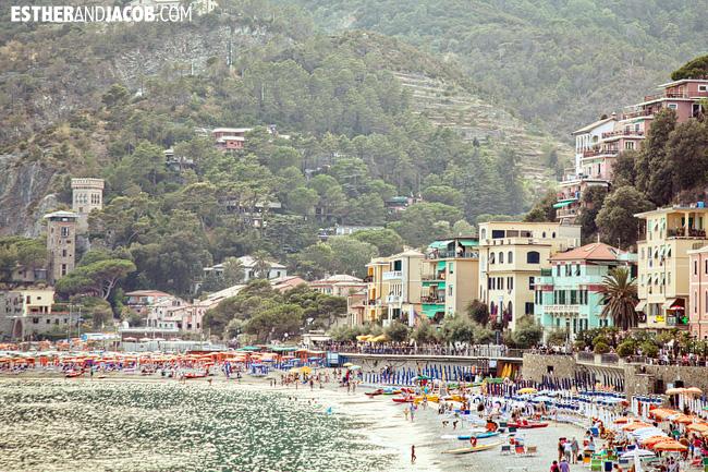 Monterosso al Mare Beach in Cinque Terre Liguria Italy | Travel Photography