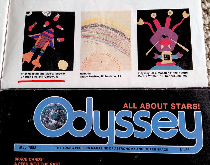 Odyssey Magazine submission, 1982
