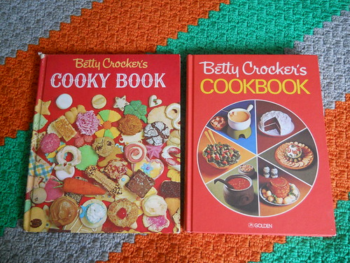 vintage Betty Crocker cookbooks