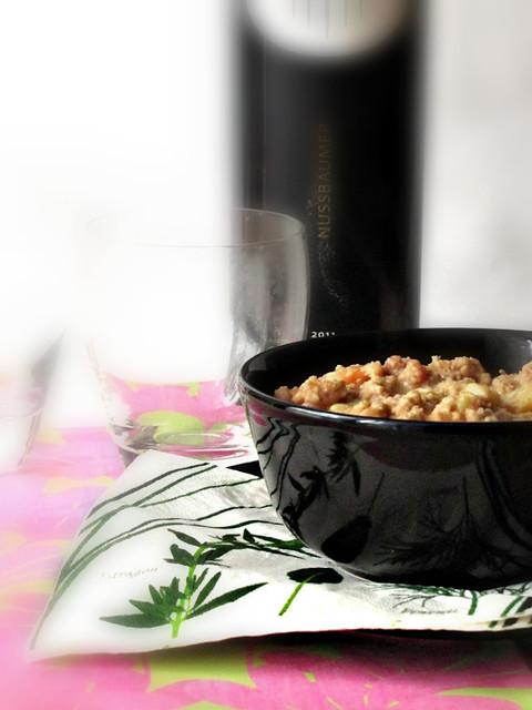 Gnocchett con Crema di Gamberi Al Galgant