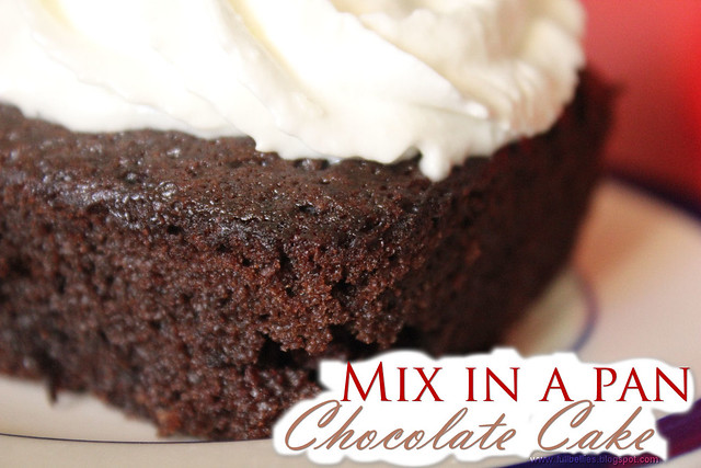 Mix in a Pan Chocolate Cake