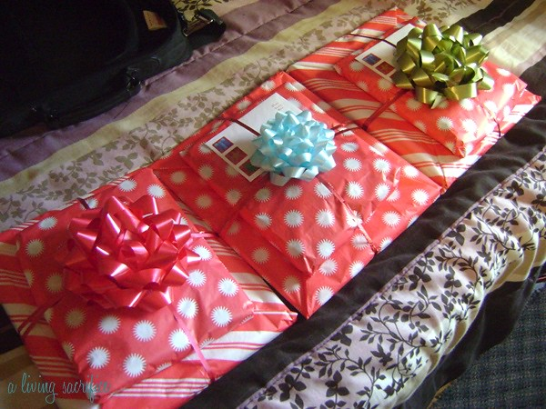 three presents