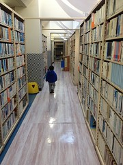 図書館にて 2013/1/20