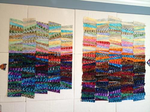 5 columns sewn