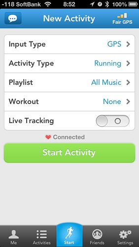 RunKeeper*Polar H7 Bluetooth Hear Rate Sensor