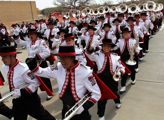 Texas Tech Goin' Band from Raiderland | Flickr - Photo ...