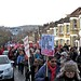 Save Lewisham Hospital: protestors in Catford