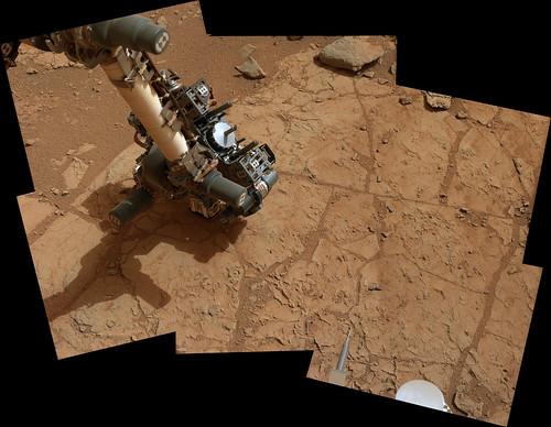 CURIOSITY sol 168 John Klein - test di pre-carico