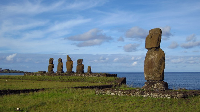 Morning from Ahu Tahai, Rapa Nui