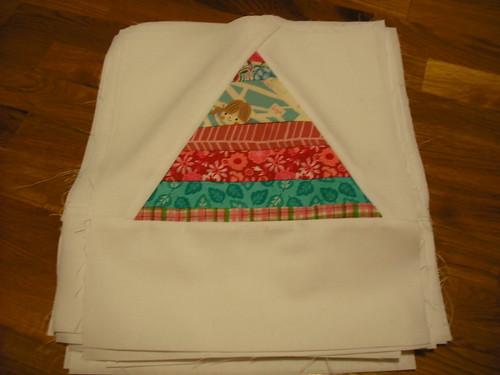 girly string triangle blocks