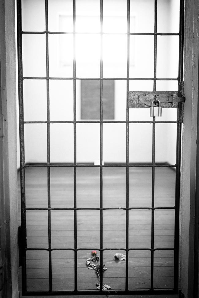 Sachsenhausen prison cell