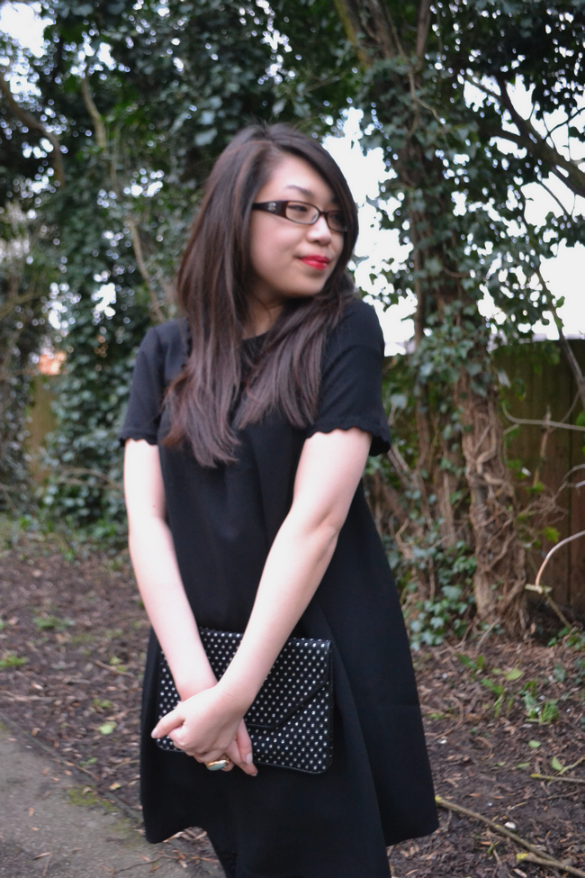 daisybutter - UK Style and Fashion Blog: what i wore, ootd, diet coke 30, topshop, SS13, LBD, little black dress outfits