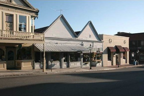 Broad Street, Nevada City, CA (Early Morning) 2011 (c) Sandy Sorlien, courtesy of the photographer