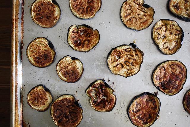eggplant, roasted.