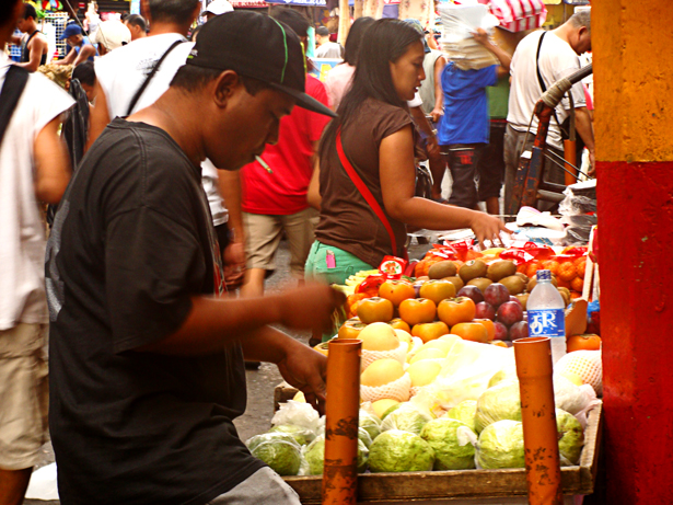 Vendors at Divisoria