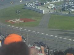 24 Denny Hamlin leads Dale Earnhardt Jr. in the Daytona 500