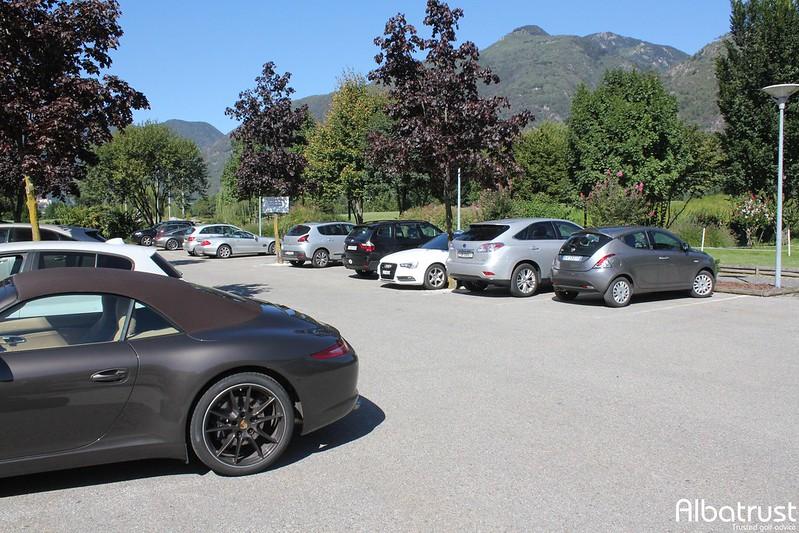 photo du golf Golf Gerre Losone - Parking