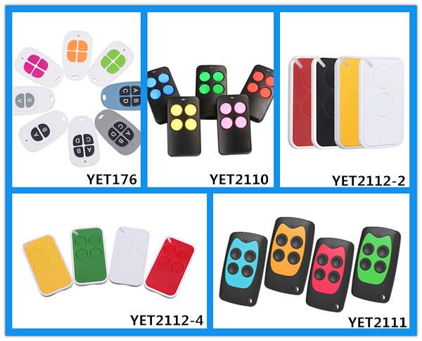 colourful remote control