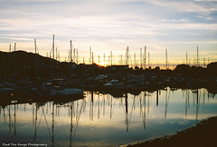 Conwy Marina at Sunset