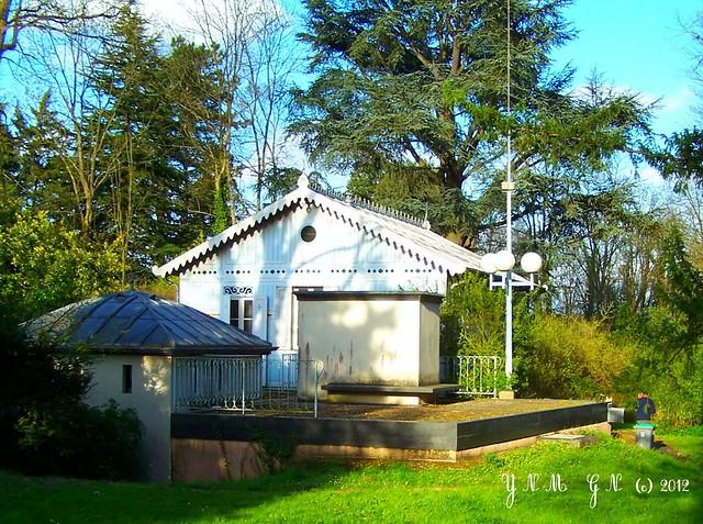 Maison de fer dampierre en yvelines 78 parc naturel for Parc naturel yvelines