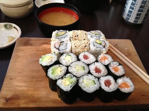 08.10.12 Sushi Sano restaurant, Munich