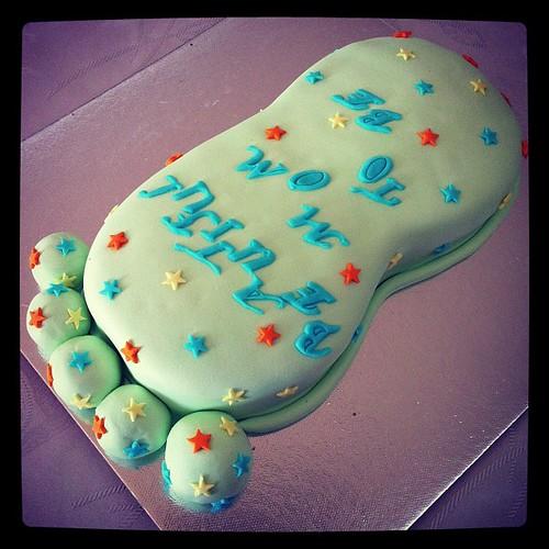 #babyfootcake#birthdaycake by l'atelier de ronitte