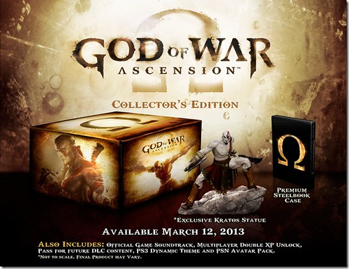 God of War: Ascension Collector's Edition Detailed