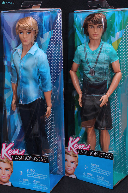 Barbie Fashionistas - Ken e Ryan