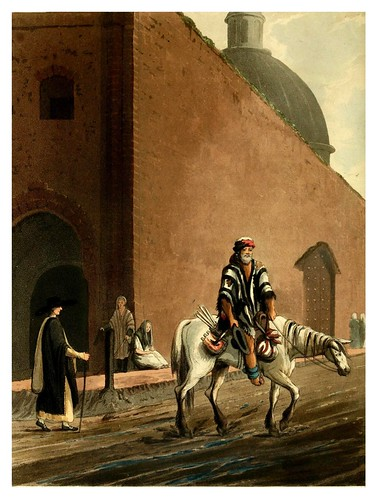 016-Mendigo a caballo-Picturesque illustrations of Buenos Ayres and Monte Video..-1820- Emeric Essex Vidal