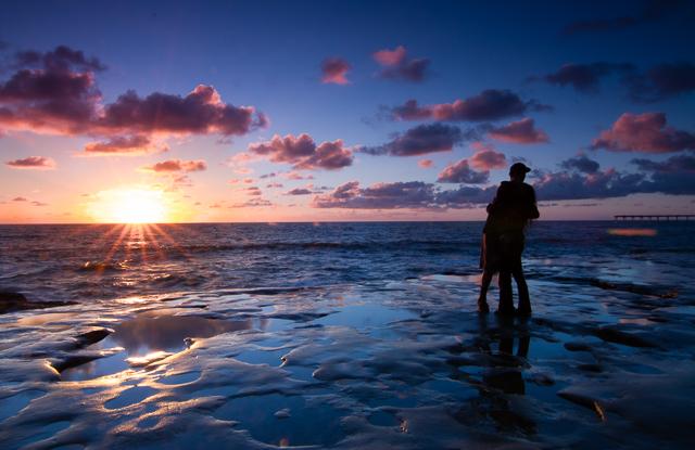 Ocean Beach Sunset 101012 © Michael Klayman-003